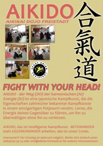 Aikido | Fight with your head!