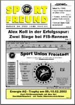 SPORT FREUND 2002/1