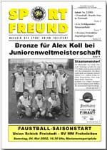SPORT FREUND 2002/2
