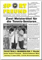 SPORT FREUND 2002/3