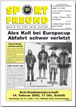 SPORT FREUND 2003/1