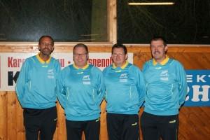 v.l.n.r.: Gerhard Foißner, Gerhard Gutenbrunner, Josef Grabmüller, Rudolf Bayer