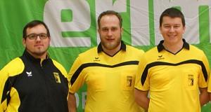 v.l.n.r.: Ausbildungsreferent Wolfgang Weiß, Dominik Hennerbichler, Ulrich Eder