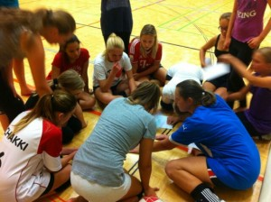 Volleyball Besprechung zum Saisonstart