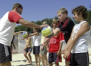 Volleyball Nachwuchstraining Freistadt
