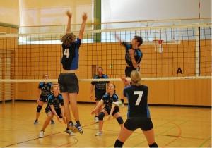 Spannende Spiele bei den Volleyball Landesmeisterschaft 2013