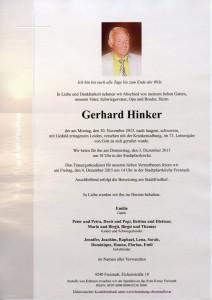 Parte Hinker Gerhard
